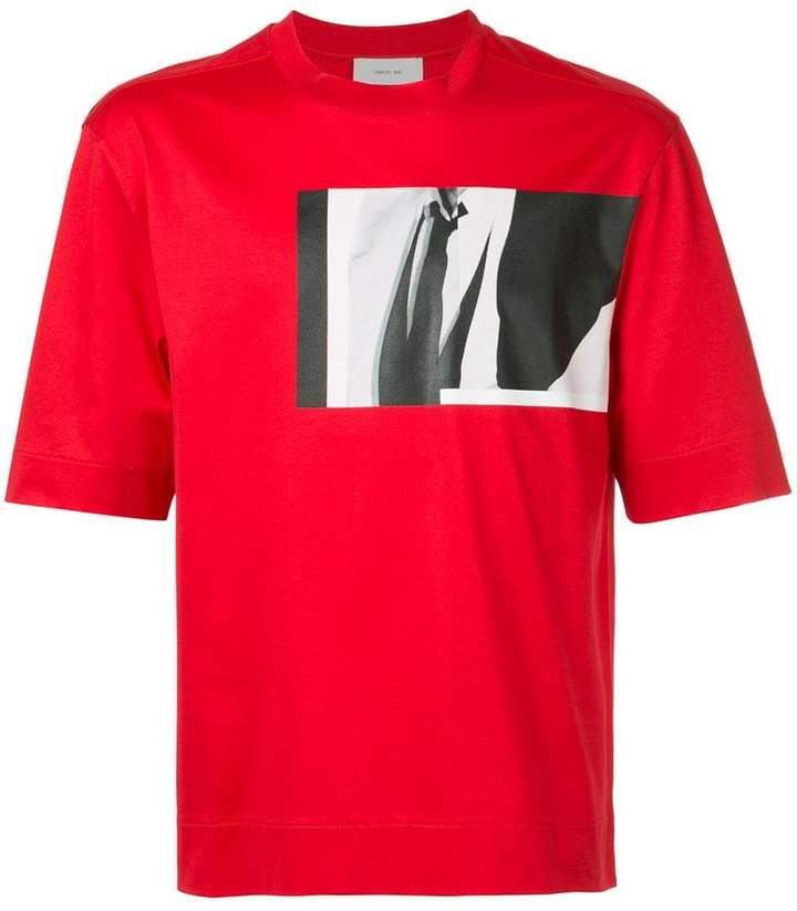 Cerruti photo-print T-shirt