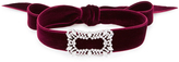 Fallon M'O Exclusive Toria Buckle Velvet Choker
