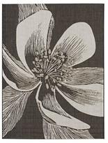 Outdoor Rug - Black Flower - Threshold