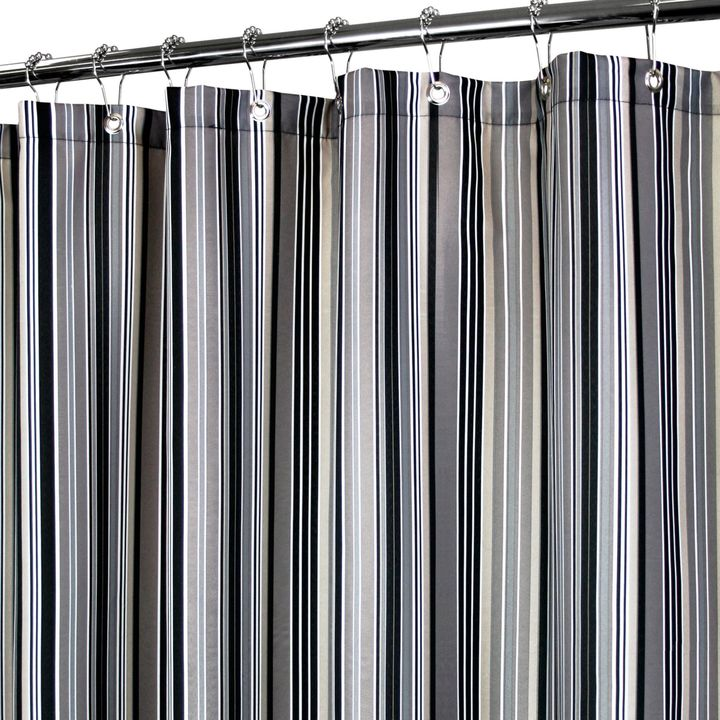 B. Smith Park Strings Stripe 72-Inch x 72-Inch Watershed® Shower Curtain