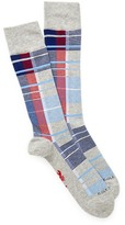 Cole Haan Plaid Crew Socks