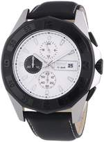 Esprit ES102841002 - Men's Watch, Leather, Black Tone
