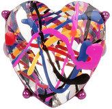 Betsey Johnson Harlem Shuffle Heart Ring