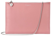 Aspinal of London Women's Soho Pouch Dusky Pink/Rose Dust