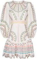 Zimmermann Broderie Anglaise Cotton Dress