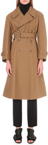 Maison Margiela Double-breasted cotton-twill trench coat