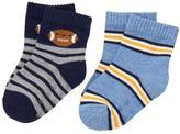 Gymboree Football & Stripe Socks