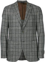Tombolini slim-fit checked jacket