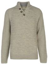 Soul Cal SoulCal Mens Quarter Button Knit Jumper Sweater Pullover Long Sleeve Warm