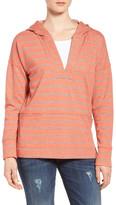 Caslon R) Hooded Pullover (Regular & Petite)