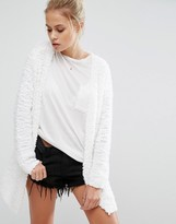 Only Pop Feather Cardigan