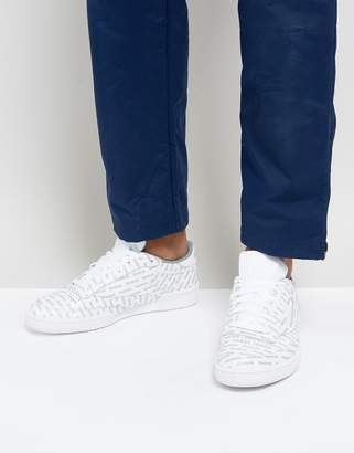 Reebok Club C 85 SO Trainers In White BS5215