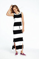 Lands' End Women's Maxi Dress-Ink Black