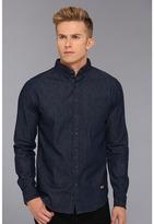 Lifetime Collective Lucky Man Denim Shirt (Dark Blue) - Apparel