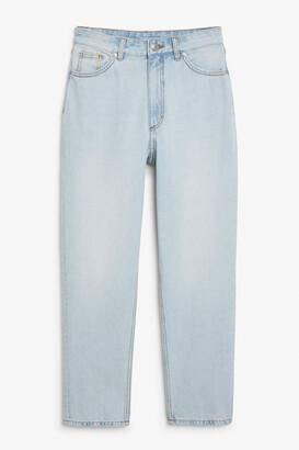 Monki Taiki jeans light blue