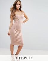 Asos Midi Cami Bodycon Dress