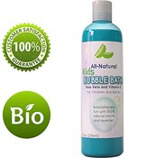 Honeydew Bubble Bath for Kids & Sensitive Skin Types - 100% Natural Lavender Vanilla Aromatherapy - Gentle & Tear Free Baby Bubble Bath for Children - 8 Oz & USA Made