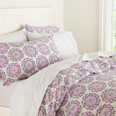 PBteen Medallion Organic Duvet Cover + Pillowcases