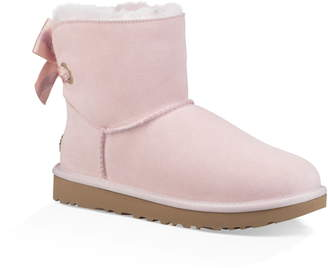 UGG Customizable Bailey Bow Mini Genuine Shearling Bootie