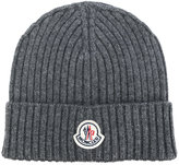 Moncler classic knitted beanie hat - men - Cashmere - One Size