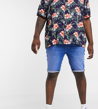Burton Menswear Big & Tall shorts in hyper blue