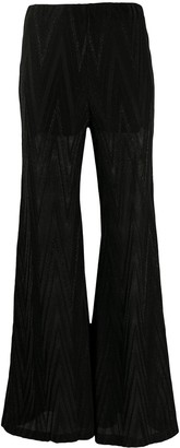 Missoni Flared Zigzag Trousers