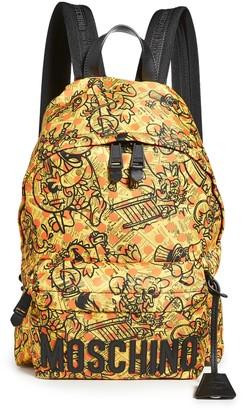 Moschino Fantasy Print Backpack