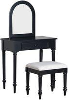 Blackledge 2-Piece Vanity Set in Black