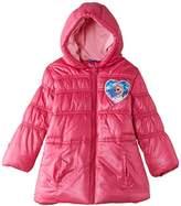 Disney Girls' Frozen Padded Raincoat