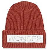 Topshop Women's Wonder Knit Beanie - Red