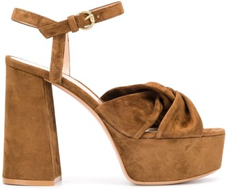Gianvito Rossi Rica Texas platform sandals