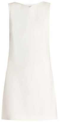 Osman Lou Lou Embellished-back Crepe-cady Dress - Womens - Cream