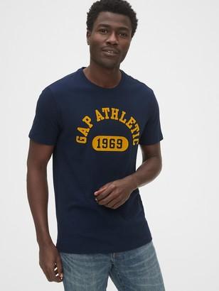 Gap Athletic Logo Crewneck T-Shirt
