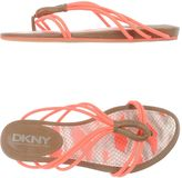 DKNY Toe strap sandals