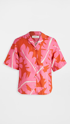 Birds of Paradis Margot Camp Shirt