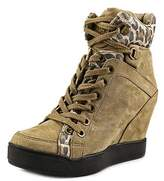 GUESS Matty 3 Round Toe Synthetic Ankle Boot.