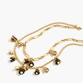 J.Crew Tortoise bud necklace