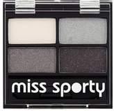 Miss Sporty Studio Colour Quattro Eyeshadow Smoky Black