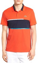 Lacoste Men's Sport Stripe Pique Polo