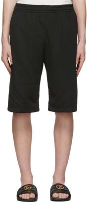Gucci Black Net Shorts