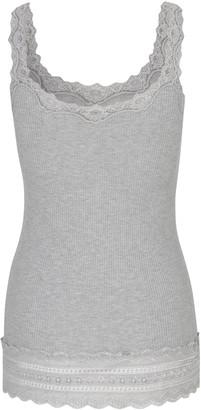 Rosemunde 5528 Top In Light Grey Melange - S