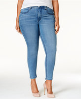 Melissa McCarthy Trendy Plus Size Comet Blue Wash Pencil Jeans