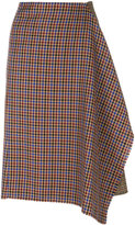 Golden Goose Deluxe Brand asymmetric dogtooth skirt