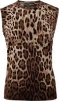 Dolce & Gabbana Leopard Tank