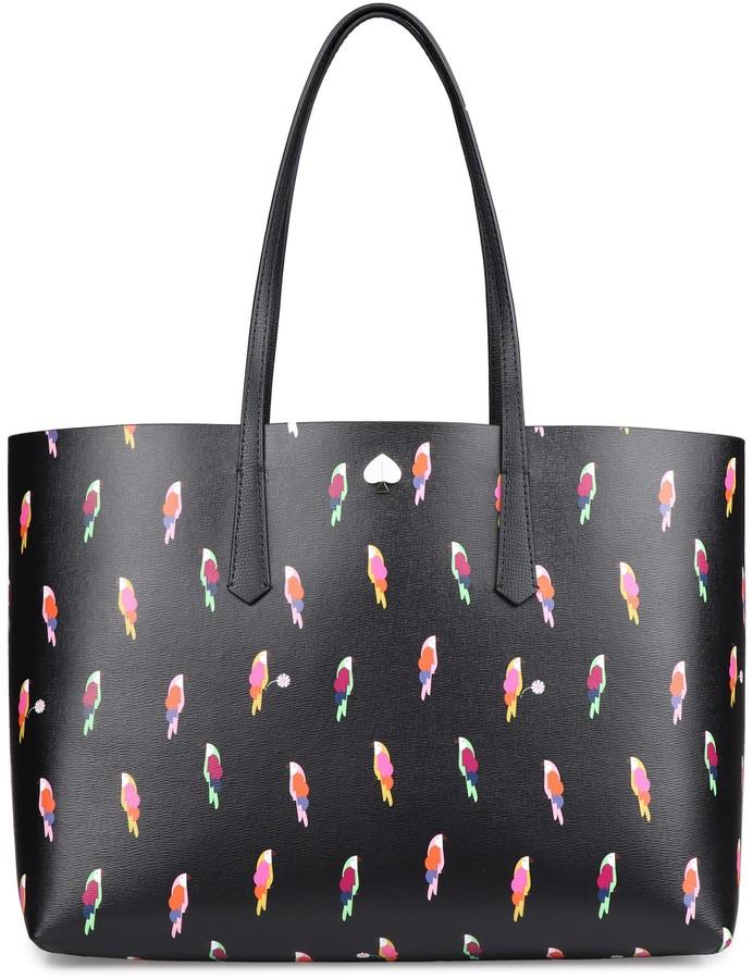 Kate Spade Molly Flock Party Printed Tote Bag