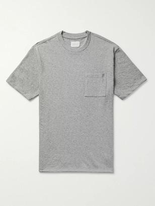 Aimé Leon Dore Melange Slub Cotton-Jersey T-Shirt - Men - Gray