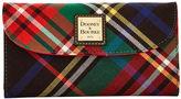 Dooney & Bourke Tartan Continental Clutch