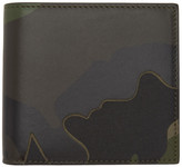 Valentino Garavani Valentino Green Camo Bifold Wallet