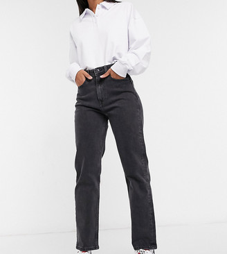 Tommy Jeans ultra high rise straight in wash black