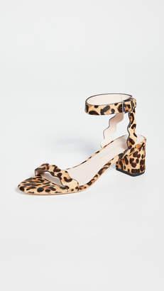 Loeffler Randall Emi Scallop Block Heel Sandals